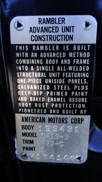 1964 Rambler 770 SPORT HARDTOP UNRESTORED ORIGINAL TV CAR! Phoenix, Arizona 13