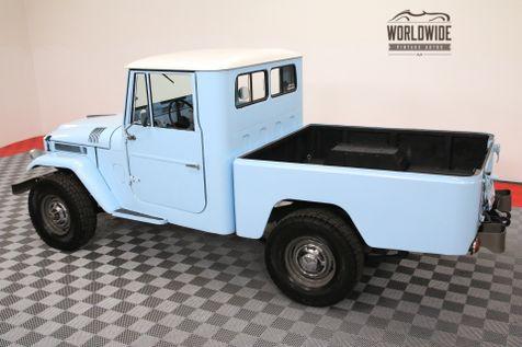 1964 Toyota FJ45 RESTORED PICKUP. EXTREMELY RARE. V8! 5-SPEED  | Denver, Colorado | Worldwide Vintage Autos in Denver, Colorado