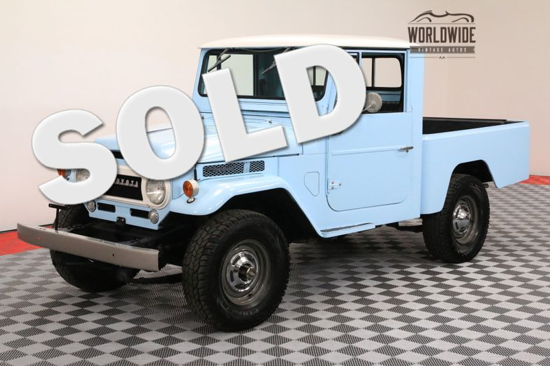 1964 Toyota FJ45 RESTORED PICKUP. EXTREMELY RARE. V8! 5-SPEED  | Denver, CO | Worldwide Vintage Autos