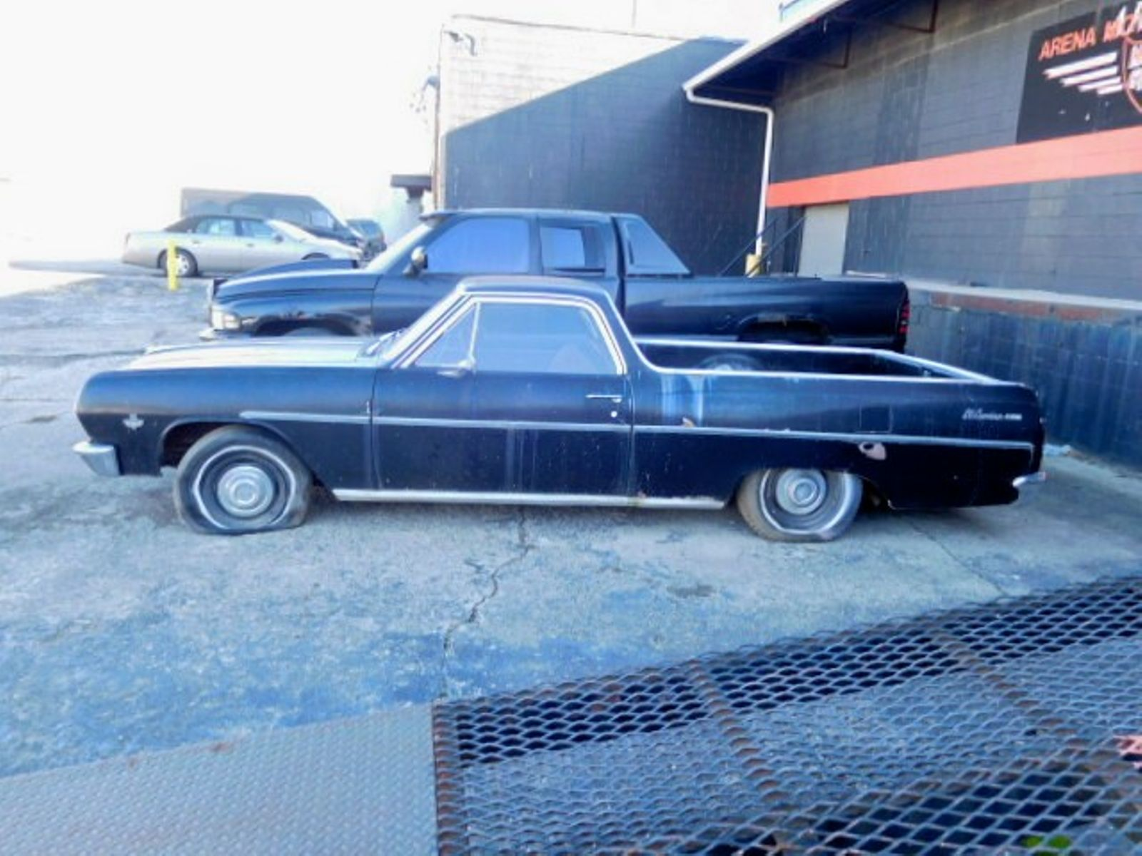 1965 Chevrolet Barn Find EL CAMINO MALIBU CUSTOM City Ohio Arena Motor Sales LLC In