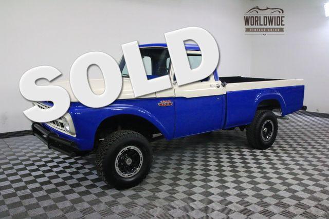 1965 Ford F100 RARE REAL 4X4 V8 RESTORED | Denver, Colorado | Worldwide Vintage Autos