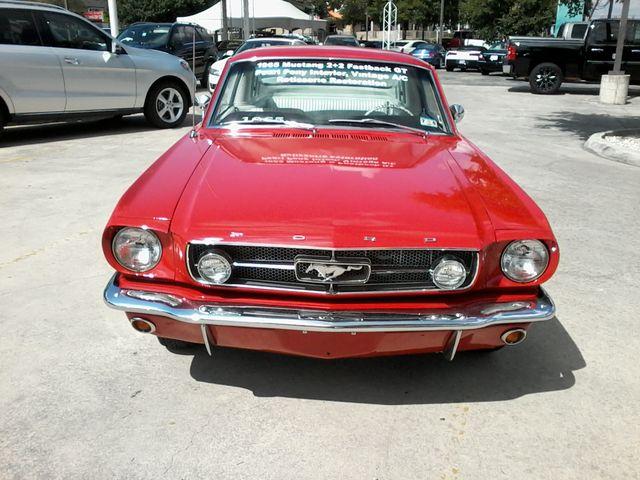 1965 Ford Fast Back  Nice  restoration San Antonio, Texas 2