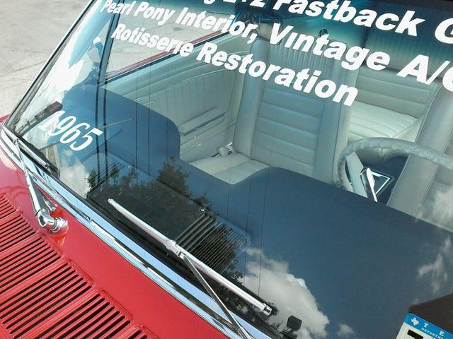 1965 Ford Fast Back  Nice  restoration San Antonio, Texas 27
