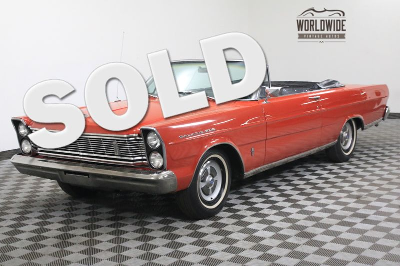 1965 Ford GALAXIE ORIGINAL POWER TOP V8 AUTO | Denver, CO | Worldwide Vintage Autos