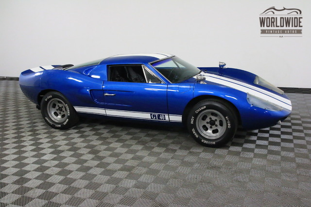 1965 ford gt40 replica american race history tribute ebay. Black Bedroom Furniture Sets. Home Design Ideas