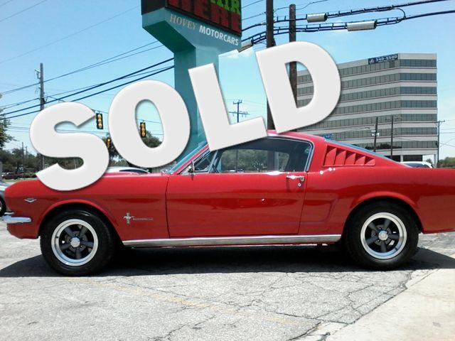 1965 Ford MUSTANG  289 V8  FASTBACK 2+2 San Antonio, Texas 0