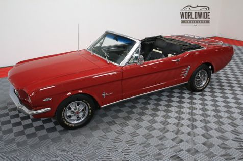 1966 Ford MUSTANG CONVERTIBLE 289 V8 AUTO PS PONY INTERIOR | Denver, Colorado | Worldwide Vintage Autos in Denver, Colorado