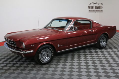 1965 Ford MUSTANG FASTBACK 302 V8 AUTO RED INTERIOR MUST SEE | Denver, CO | WORLDWIDE VINTAGE AUTOS in Denver, CO