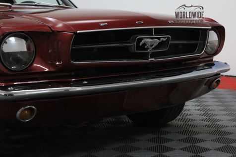 1965 Ford MUSTANG FASTBACK 302 V8 AUTO RED INTERIOR MUST SEE | Denver, Colorado | Worldwide Vintage Autos in Denver, Colorado