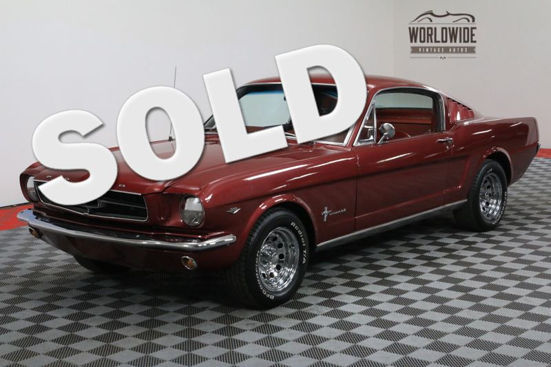 1965 Ford MUSTANG FASTBACK 302 V8 AUTO RED INTERIOR MUST SEE | Denver, CO | WORLDWIDE VINTAGE AUTOS