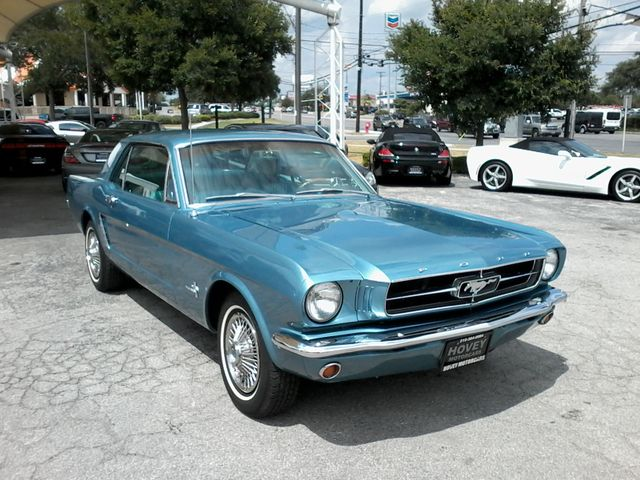 1965 Ford Mustang  6cy , a/c ,pony interior San Antonio, Texas 1