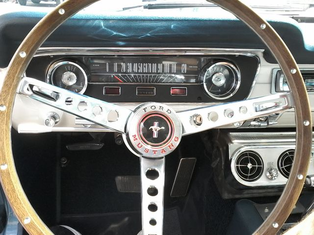1965 Ford Mustang  6cy , a/c ,pony interior San Antonio, Texas 15