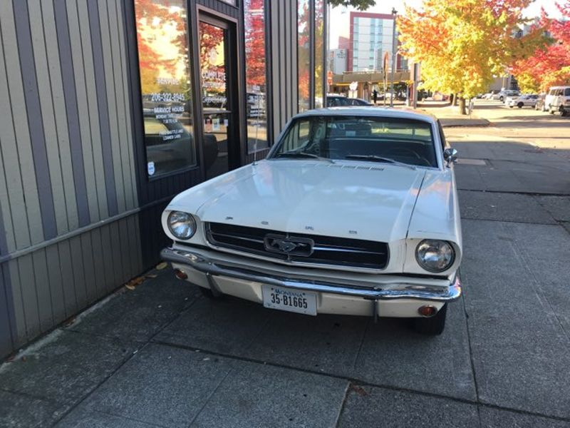 1965 Ford Mustang 289 V8 Automatic Power Steering 111000 Original Miles SURVEYOR You Must Drive   city Washington  Complete Automotive  in Seattle, Washington