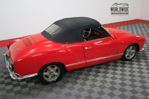 1965 Volkswagen KARMANN GHIA RARE. CONVERTIBLE. RESTORED. NOM. 1776CC | Denver, Colorado | Worldwide Vintage Autos in Denver, Colorado