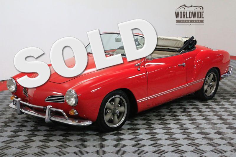 1965 Volkswagen KARMANN GHIA RARE. CONVERTIBLE. RESTORED. NOM. 1776CC | Denver, CO | Worldwide Vintage Autos
