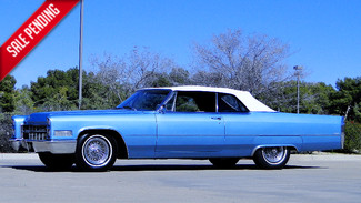 1966 Cadillac DeVILLE CONVERTIBLE CALIFORNIA CAR Phoenix, Arizona
