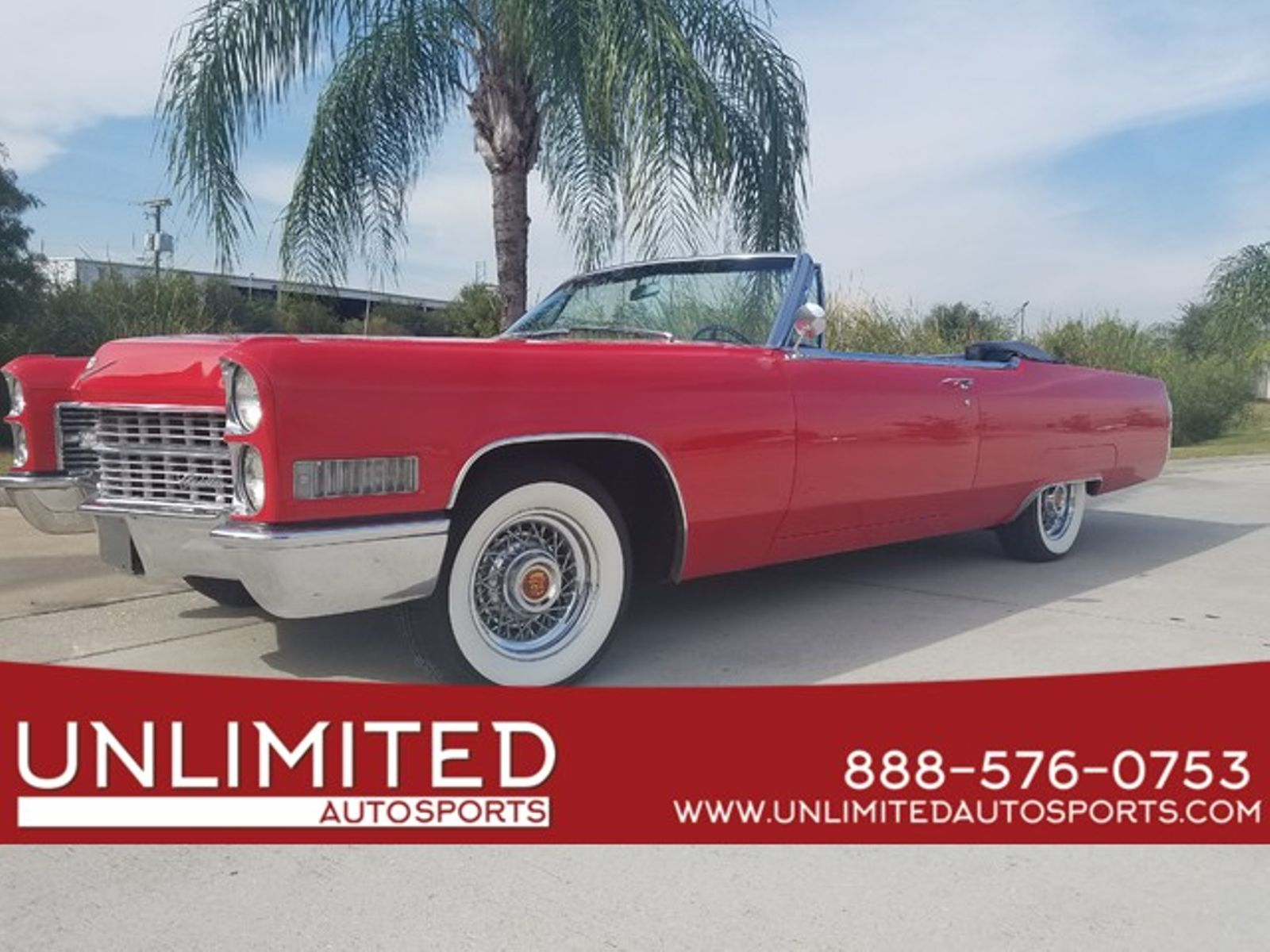 1966 Cadillac DEVILLE CONVERTIBLE city FL Unlimited Autosports