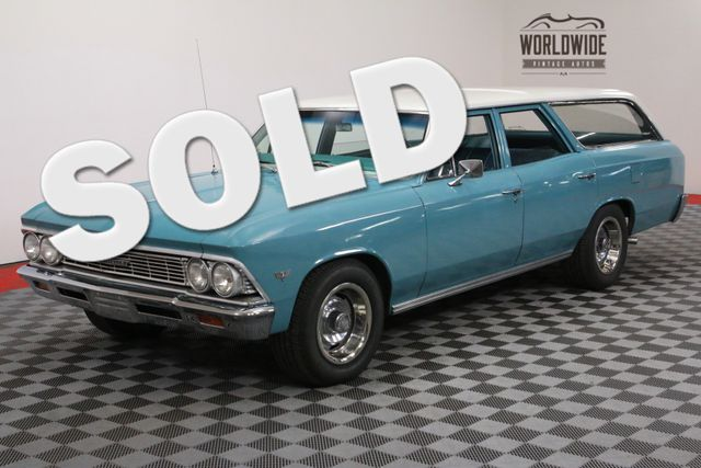 1966 Chevrolet CHEVELLE RARE CLEAN WAGON | Denver, Colorado | Worldwide Vintage Autos