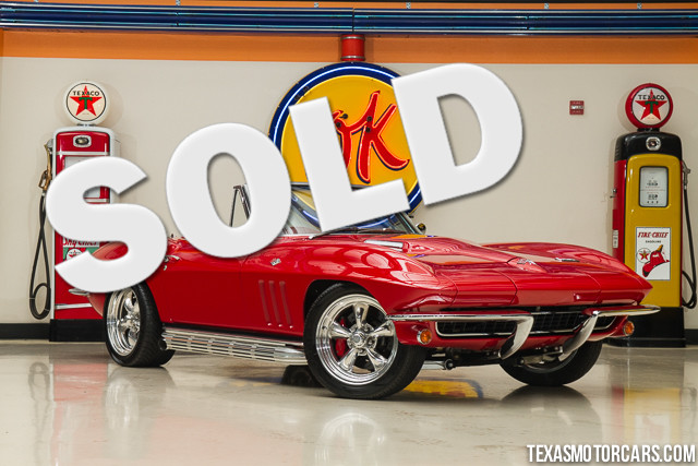 1966 Chevrolet Corvette Restomod Financing is available with rates as low as 29 wac Get pre-a