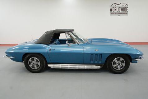 1966 Chevrolet CORVETTE RESTORED CONVERTIBLE FACTORY OPTIONS 4 SPEED | Denver, CO | Worldwide Vintage Autos in Denver, CO