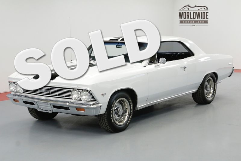 1966 Chevrolet MALIBU 383 STROKER MOTOR 4-SPEED FAST RESTORED | Denver, CO | Worldwide Vintage Autos