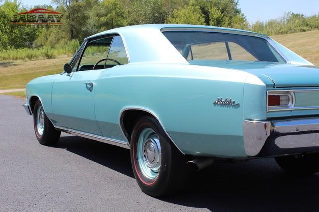 1966 Chevrolet Malibu Merrillville, Indiana 79