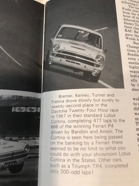 1966 English Ford MK1 LOTUS CORTINA Jacksonville , FL 10