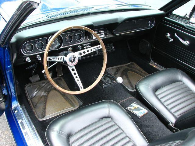 1966 Ford MUSTANG CONVERTIBLE RedLineMuscleCars.com, Oklahoma 20