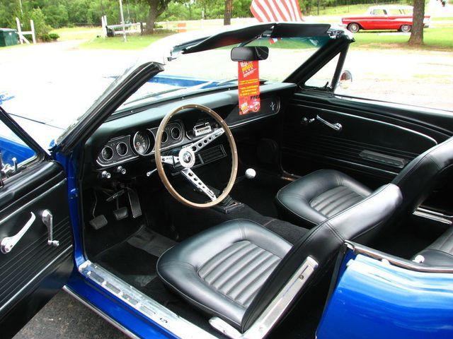 1966 Ford MUSTANG CONVERTIBLE RedLineMuscleCars.com, Oklahoma 8