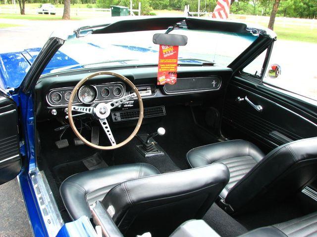 1966 Ford MUSTANG CONVERTIBLE RedLineMuscleCars.com, Oklahoma 12