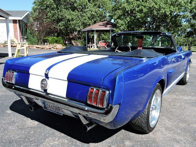 1966 Ford MUSTANG CONVERTIBLE RedLineMuscleCars.com, Oklahoma 49