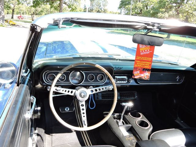1966 Ford MUSTANG CONVERTIBLE RedLineMuscleCars.com, Oklahoma 53