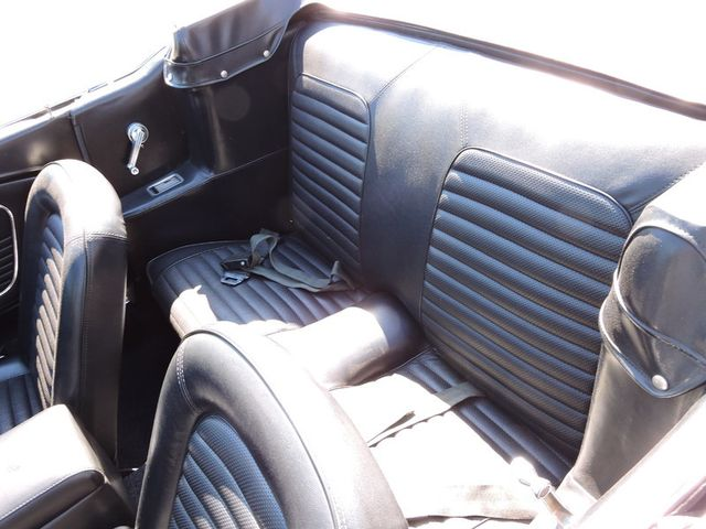 1966 Ford MUSTANG CONVERTIBLE RedLineMuscleCars.com, Oklahoma 57