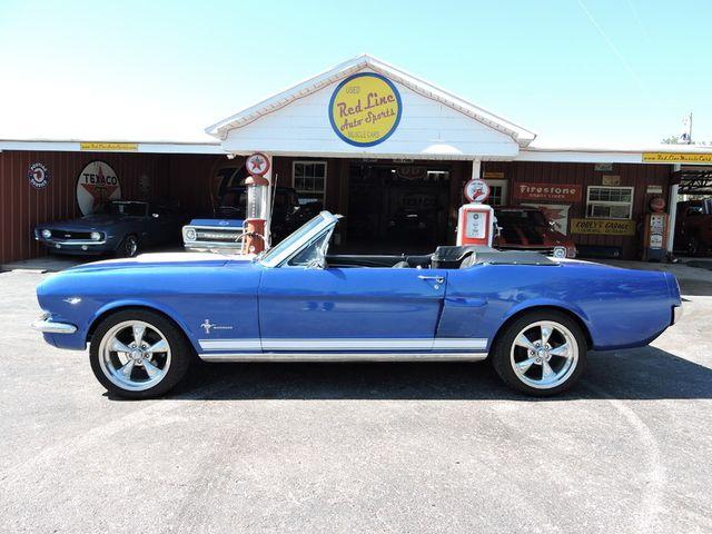 1966 Ford MUSTANG CONVERTIBLE RedLineMuscleCars.com, Oklahoma 70