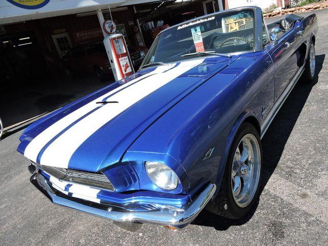 1966 Ford MUSTANG CONVERTIBLE RedLineMuscleCars.com, Oklahoma 73