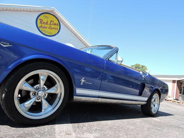 1966 Ford MUSTANG CONVERTIBLE RedLineMuscleCars.com, Oklahoma 79