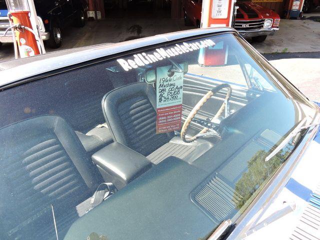 1966 Ford MUSTANG CONVERTIBLE RedLineMuscleCars.com, Oklahoma 42