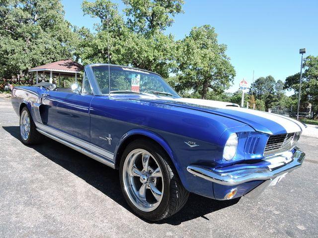 1966 Ford MUSTANG CONVERTIBLE RedLineMuscleCars.com, Oklahoma 102