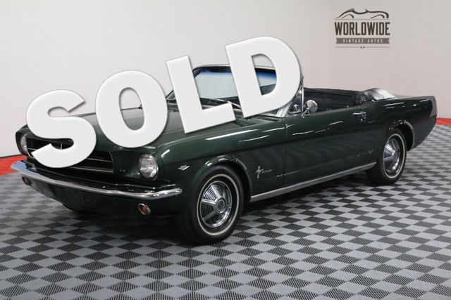 1966 Ford MUSTANG RESTORED. CONVERTIBLE. V8. AUTOMATIC | Denver, Colorado | Worldwide Vintage Autos
