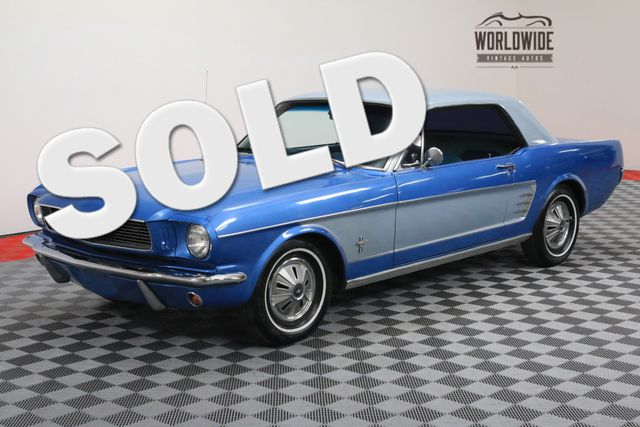 1966 Ford MUSTANG V8 AUTOMATIC TWO TONE | Denver, Colorado | Worldwide Vintage Autos