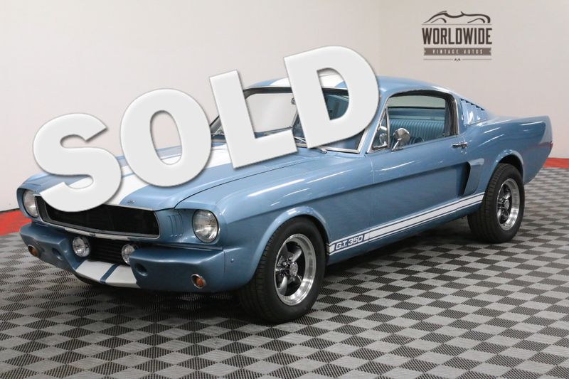 1966 Ford MUSTANG FASTBACK! FULLY RESTORED. V8! AC! AUTO GT350 CLONE | Denver, CO | Worldwide Vintage Autos
