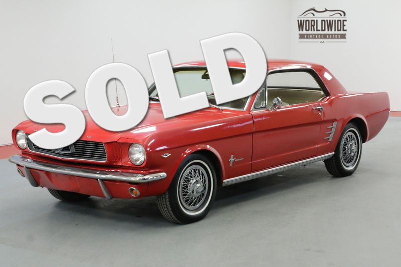 1966 Ford MUSTANG REBUILT 289 AUTO 500 MILES ON BUILD | Denver, CO | Worldwide Vintage Autos