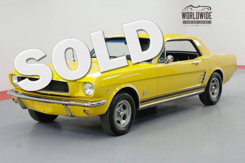 1966 Ford MUSTANG RESTORED 4-SPEED 302V8 DISC | Denver, CO | Worldwide Vintage Autos