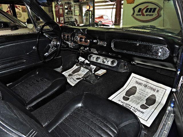 1966 Ford MUSTANG FASTBACK RedLineMuscleCars.com, Oklahoma 89
