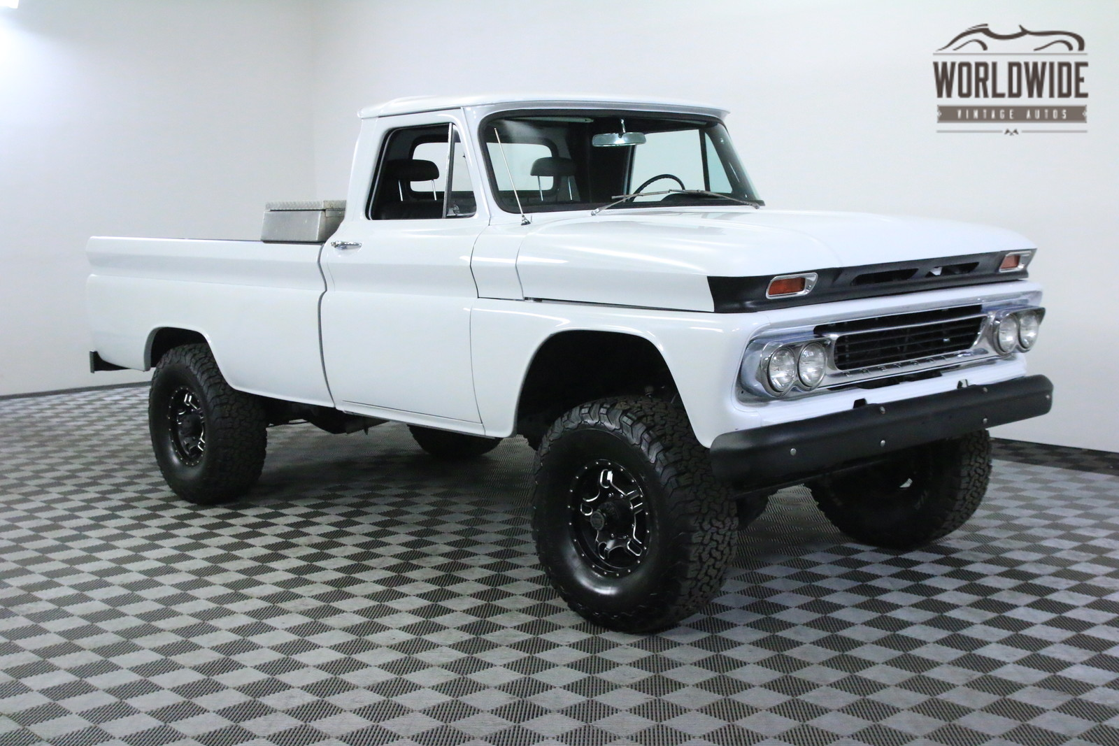1966 White Restored  Fuel Injected V8! Dana Axles! - Used
