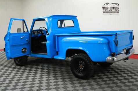 1966 GMC TRUCK 4X4. RESTORED. PTO WINCH 351E GMC V6 4-SPEED | Denver, CO | WORLDWIDE VINTAGE AUTOS in Denver, CO