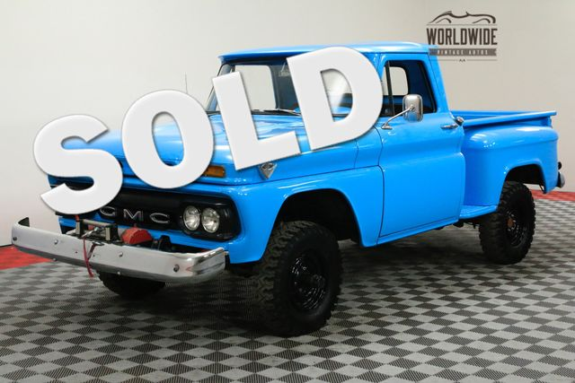 1966 GMC TRUCK 4X4. RESTORED. PTO WINCH 351E GMC V6 4-SPEED | Denver, CO | WORLDWIDE VINTAGE AUTOS