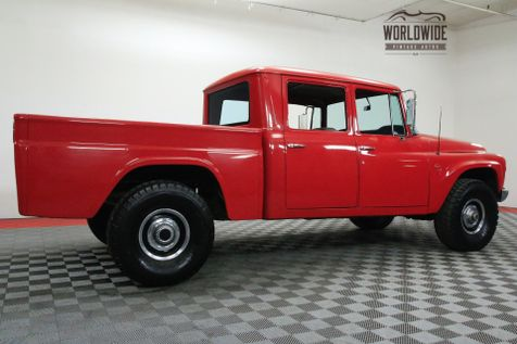 1966 International 1100 CREW CAB V8 4X4 EXTREMELY RARE COLLECTOR | Denver, CO | Worldwide Vintage Autos in Denver, CO