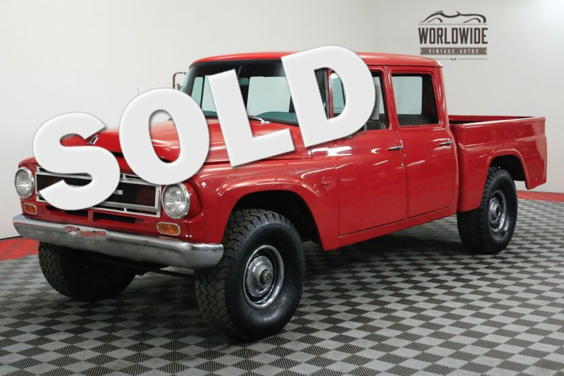 1966 International 1100 CREW CAB V8 4X4 EXTREMELY RARE COLLECTOR | Denver, CO | Worldwide Vintage Autos