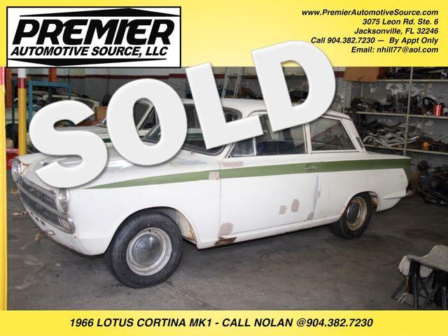 1966 Lotus CORTINA MK1 Jacksonville , FL 0